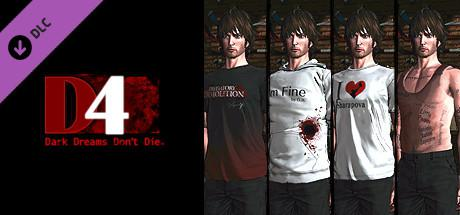 D4: Dark Dreams Don't Die - Swery's Choice Costume Set -4 Bottles of Tequila-