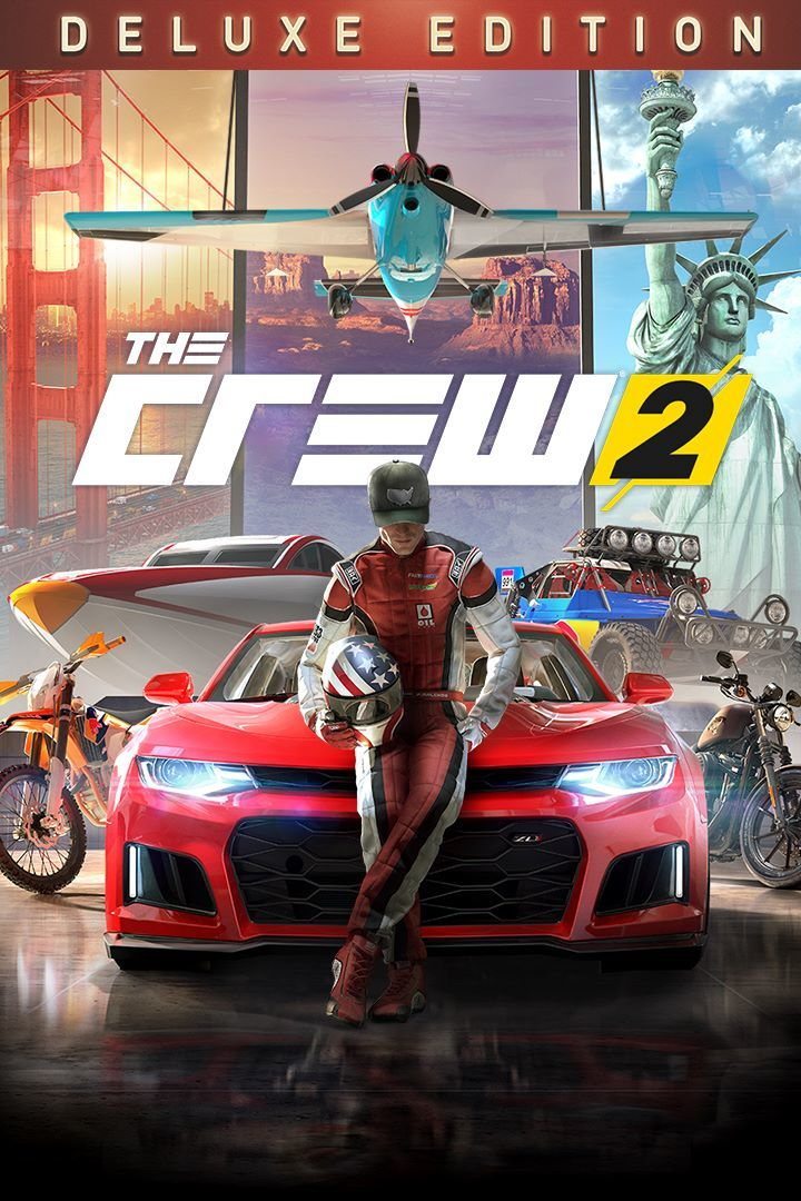 the crew 2 deluxe edition for xbox one 2018 mobygames. Black Bedroom Furniture Sets. Home Design Ideas