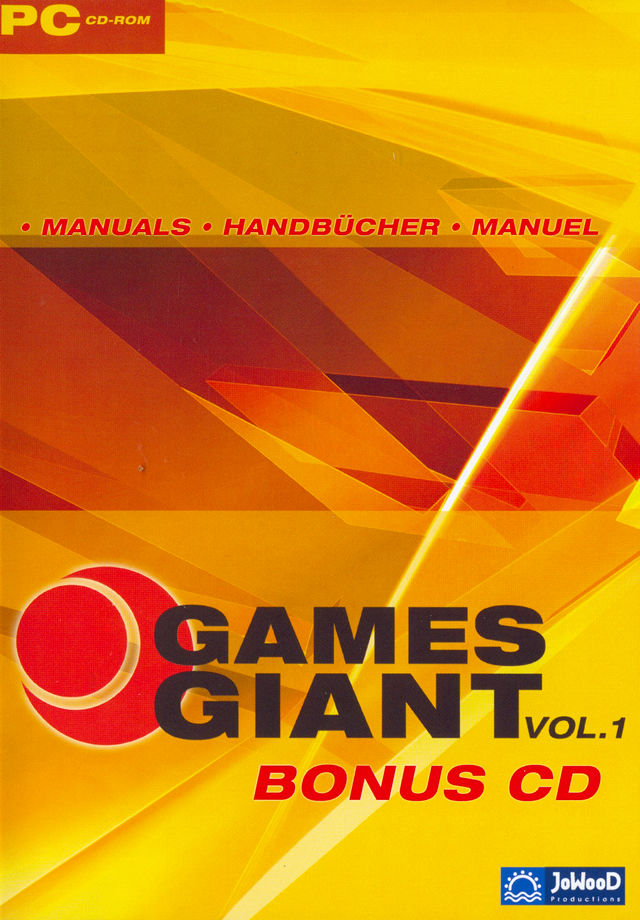 15 Giant Games Vol.1 Windows Other Bonus Disc Keep Case - Front