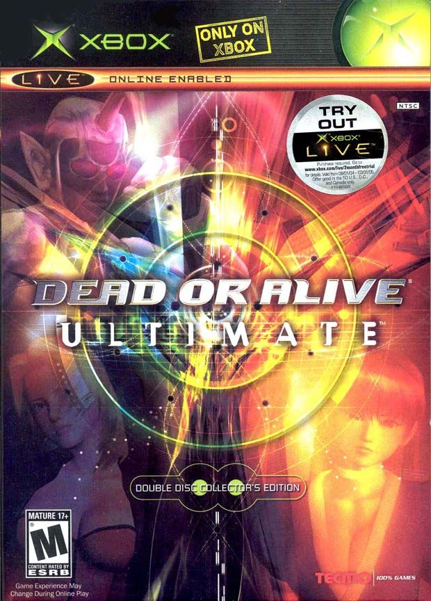 Dead or Alive: Ultimate Xbox Front Cover