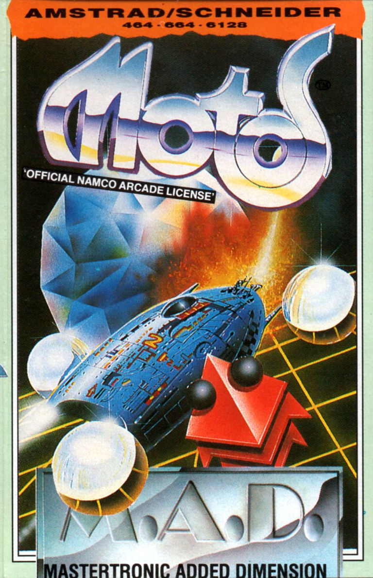 Motos Amstrad CPC Front Cover