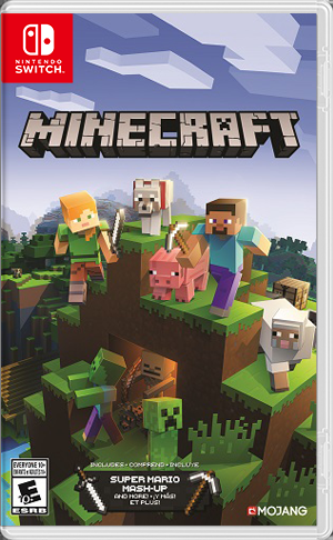 Minecraft Nintendo Switch Front Cover