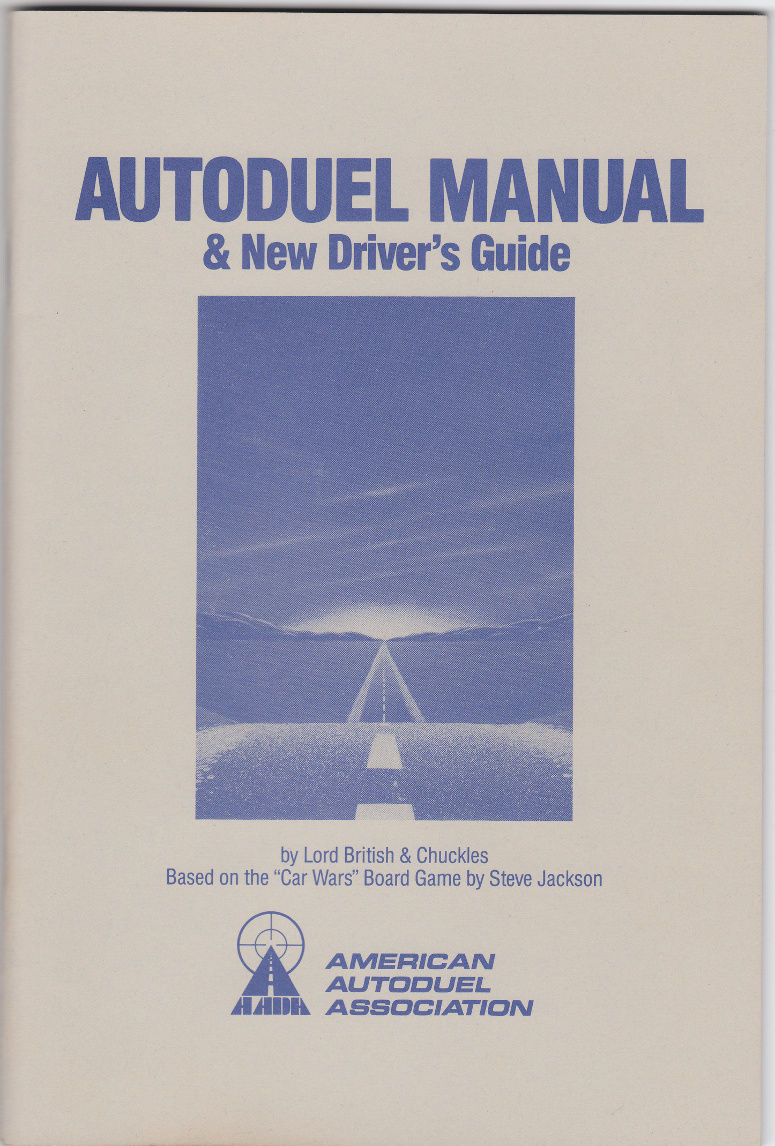 AutoDuel Commodore 64 Manual Front