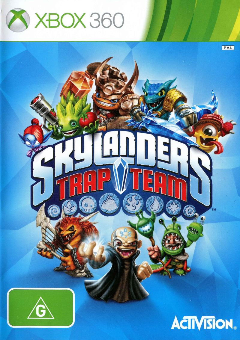 Skylanders: Trap Team Xbox 360 Front Cover
