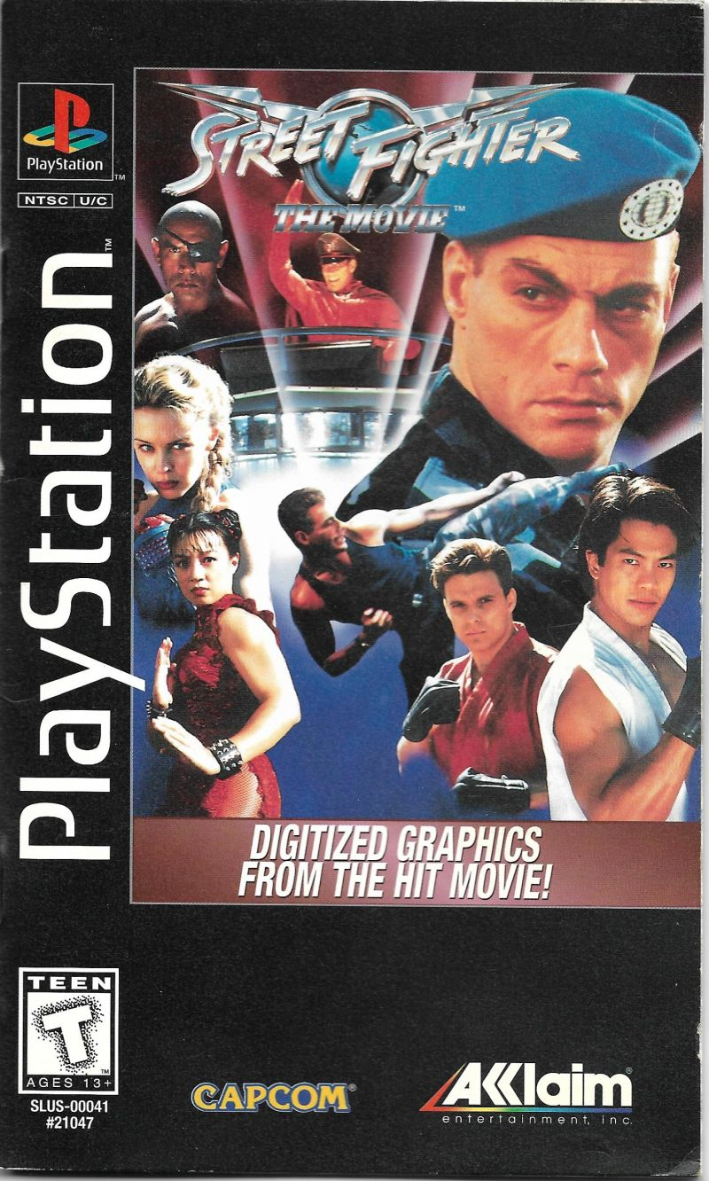 Street Fighter The Movie For Playstation 1995 Mobygames