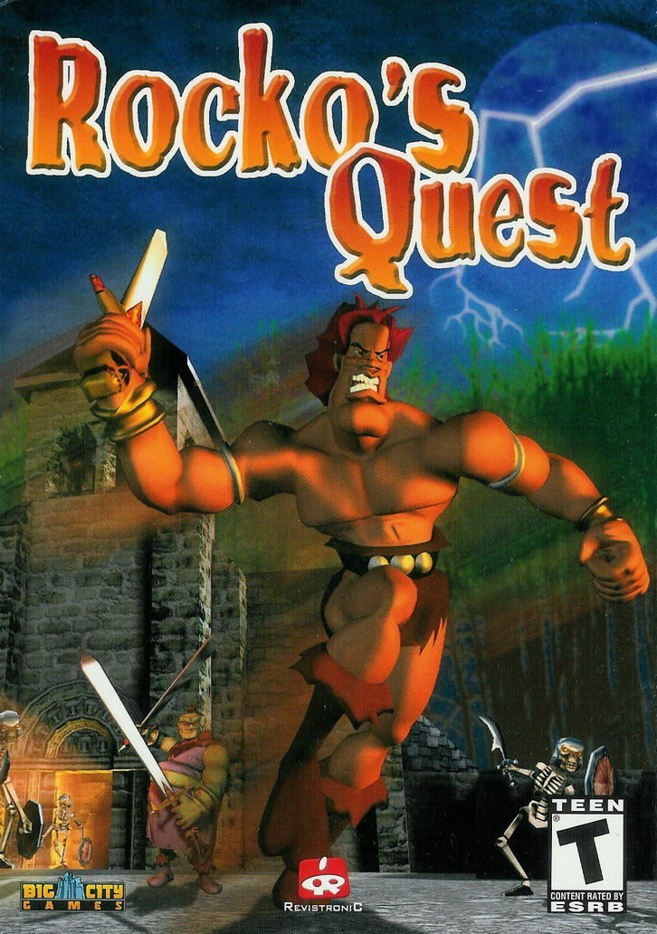 Rocko's Quest Windows Front Cover