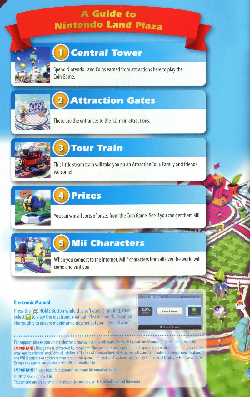 Nintendo land coin game prizes