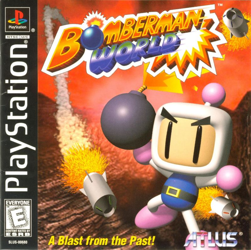 Bomberman World PlayStation Front Cover