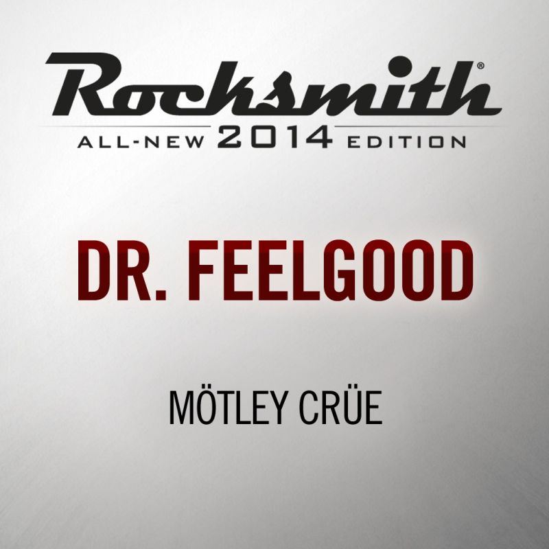 Rocksmith: All-new 2014 Edition - Mötley Crüe: Dr. Feelgood PlayStation 3 Front Cover