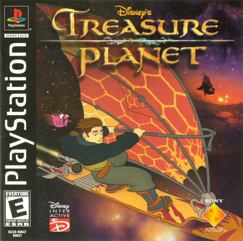 Disney's Treasure Planet For PlayStation (2002)