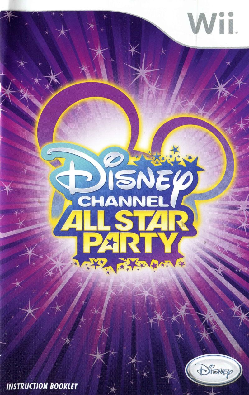 Disney channel all star party 2010 wii box cover art mobygames disney channel all star party wii manual front publicscrutiny Image collections