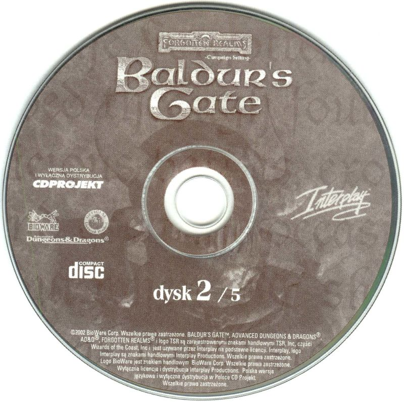 Baldur's Gate Windows Media Disc 2