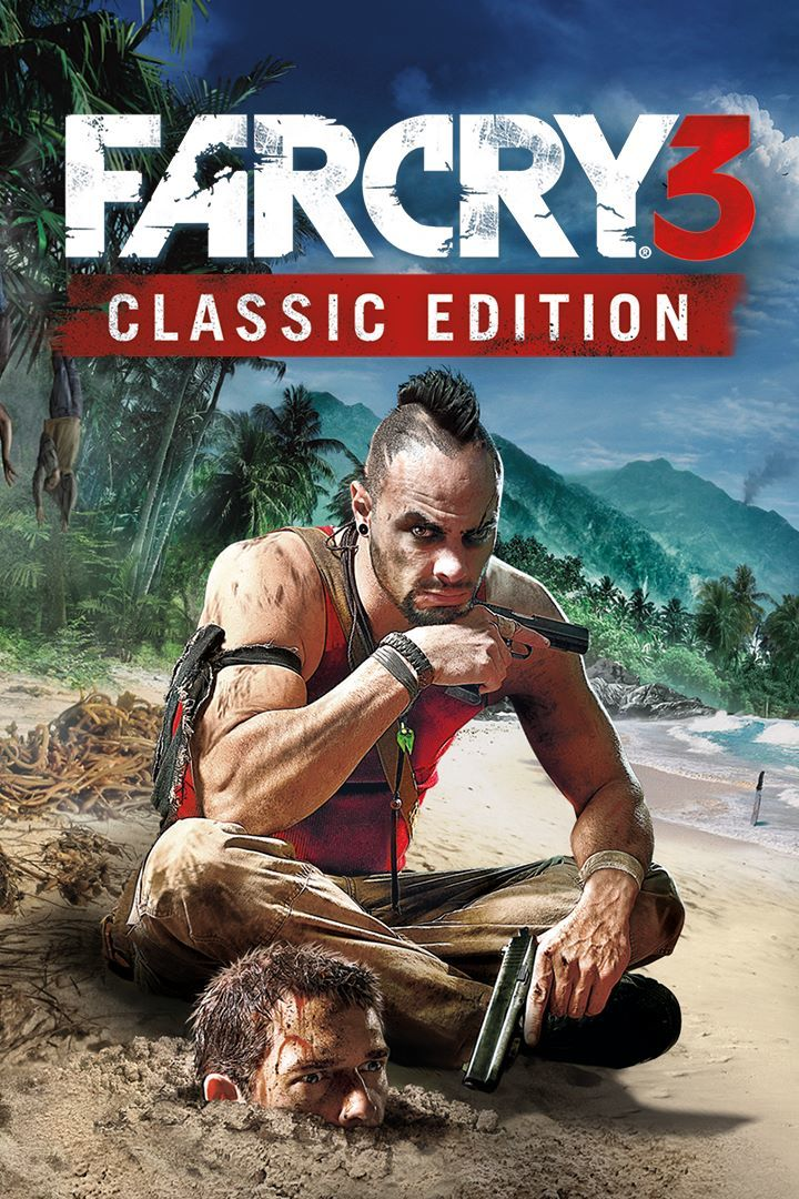 Far Cry 3: Classic Edition Xbox One Front Cover