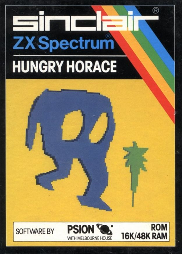 Hungry Horace ZX Spectrum Front Cover