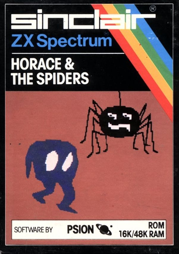 Horace & The Spiders ZX Spectrum Front Cover