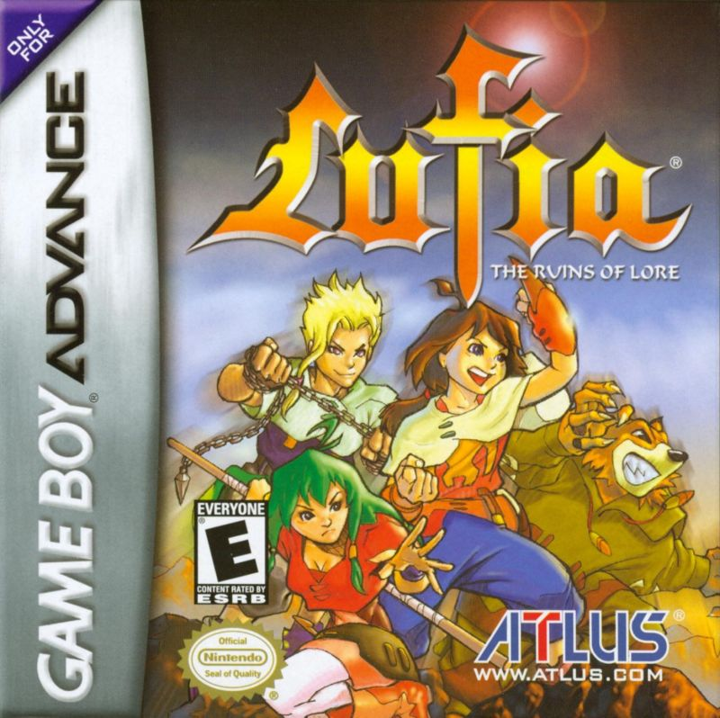 Lufia: The Ruins of Lore Game Boy Advance Front Cover
