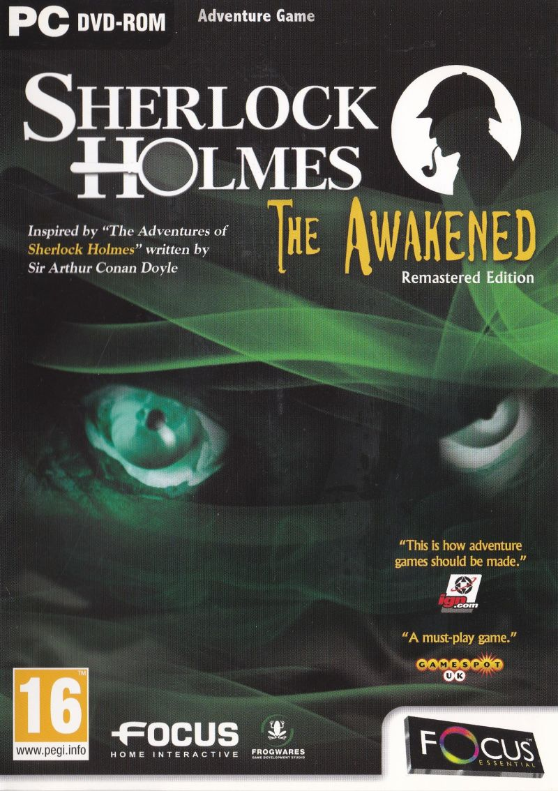 Sherlock Holmes: The Awakened - Remastered Edition Windows Front Cover