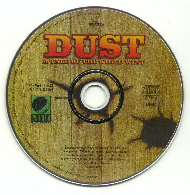 Dust: A Tale of the Wired West Windows Media