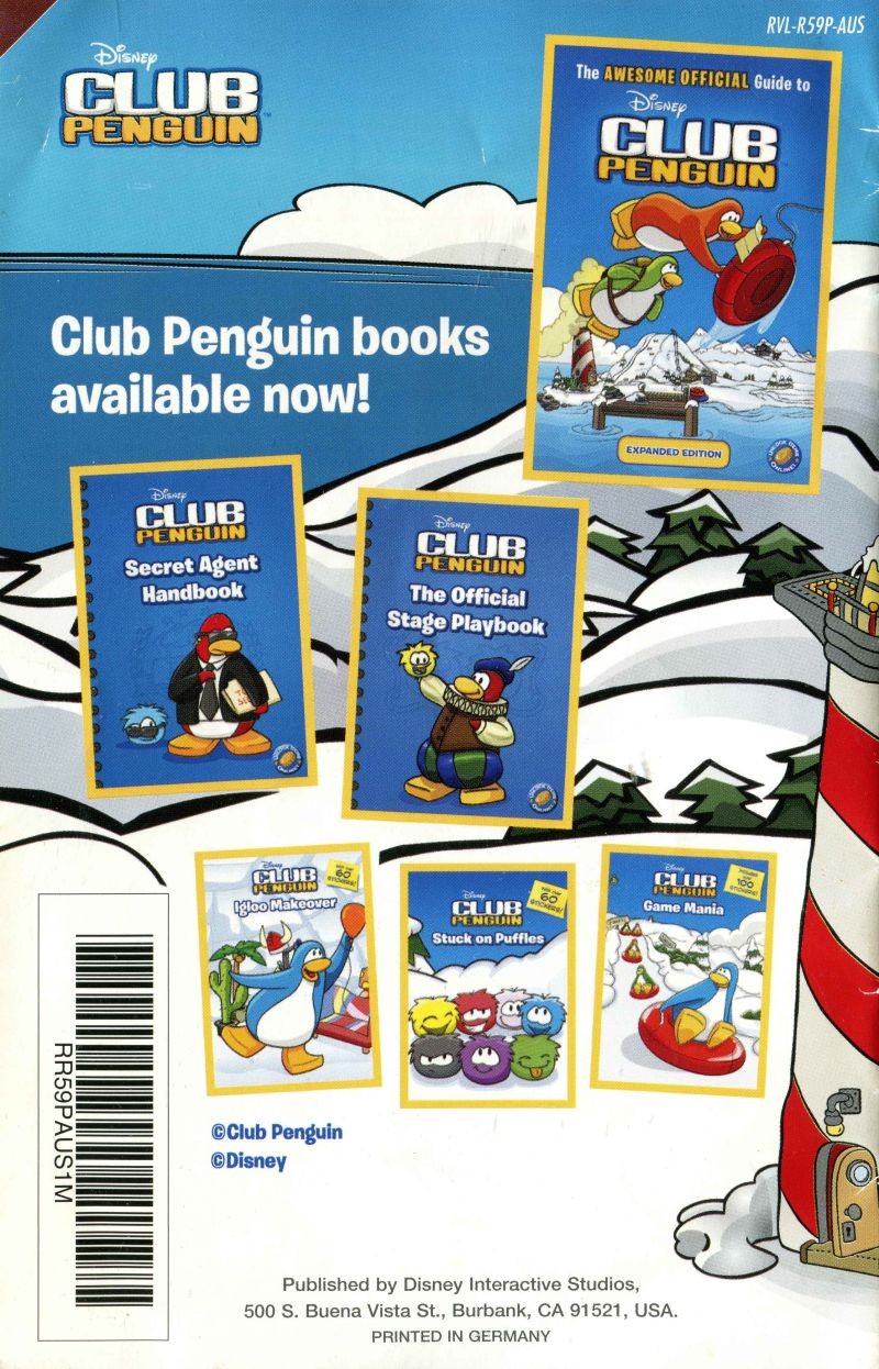 Club Penguin Game Day 2010 Wii Box Cover Art Mobygames