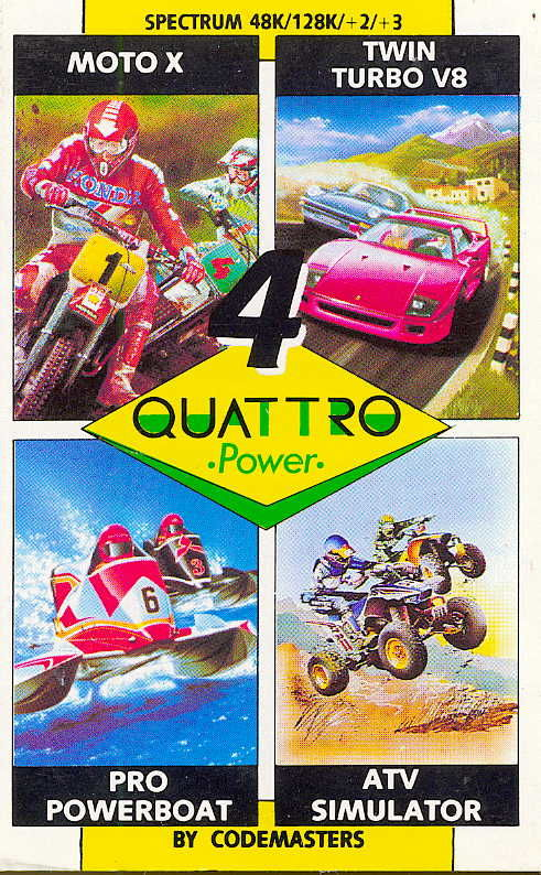 Quattro Power ZX Spectrum Front Cover