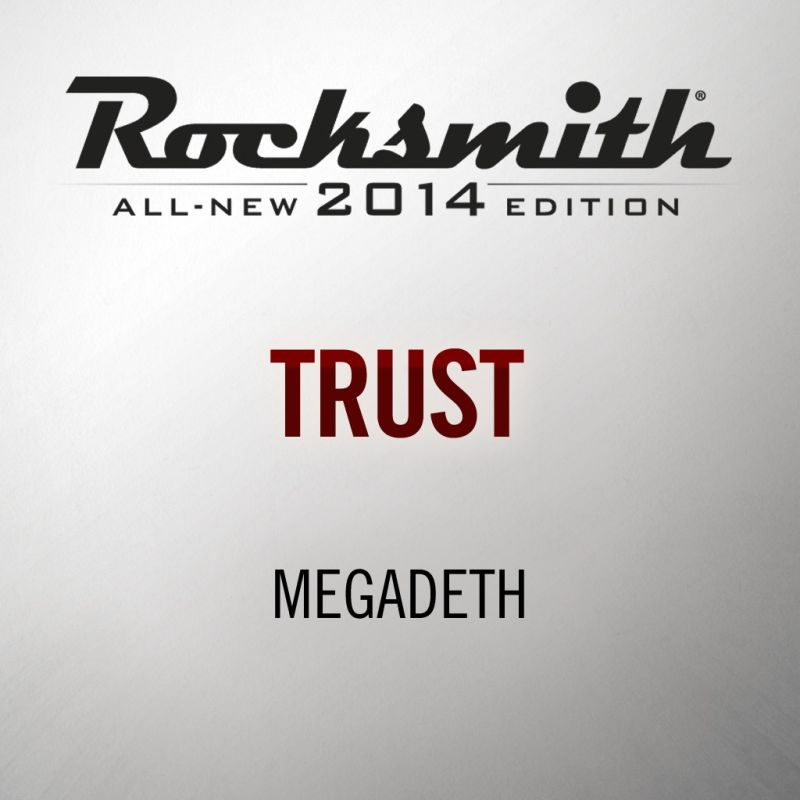 Rocksmith: All-new 2014 Edition - Megadeth: Trust 2016 pc game Img-1