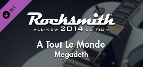 Rocksmith: All-new 2014 Edition - Megadeth: A Tout Le Monde