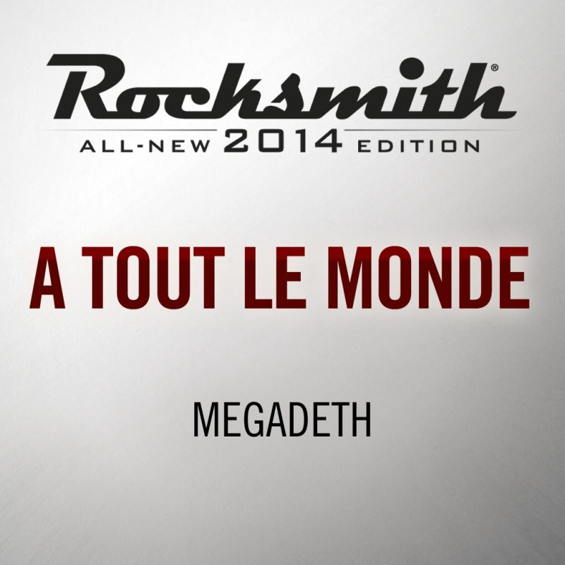 Rocksmith: All-new 2014 Edition - Megadeth: Tornado of Souls 2016 pc game Img-1