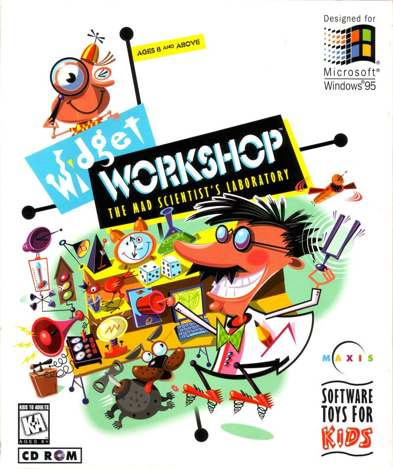 Widget Workshop: The Mad Scientist's Laboratory Windows Front Cover
