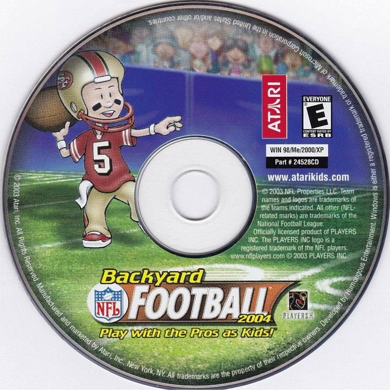Backyard Football 2004 backyard football 2004 (2003) windows box cover art - mobygames