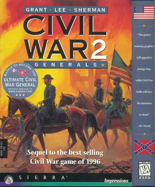 Grant - Lee - Sherman: Civil War 2: Generals Windows Front Cover