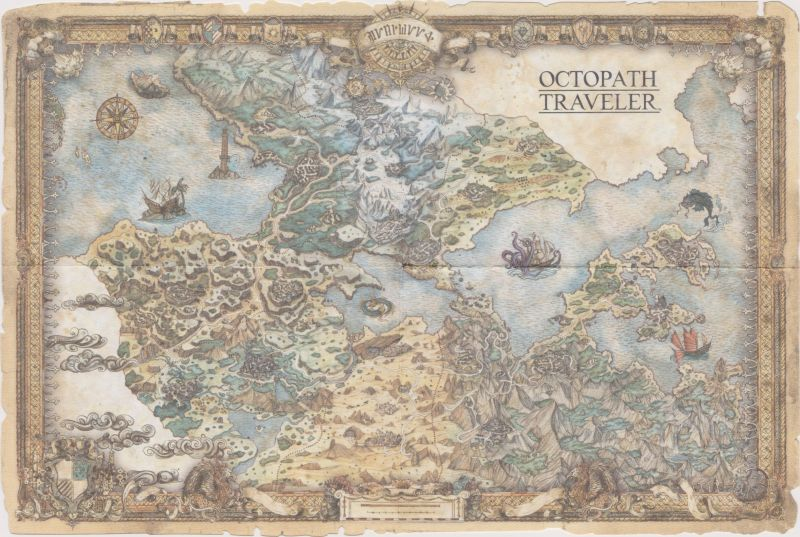 Octopath Traveler Wayfarer S Edition 2018 Nintendo Switch Box