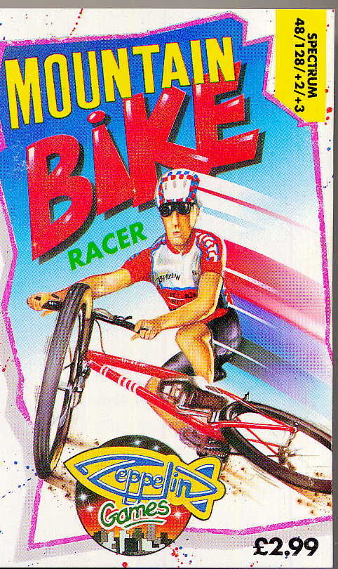 Mountain Bike Racer ZX Spectrum Front Cover
