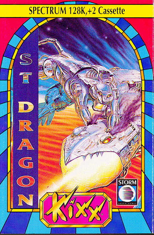 Saint Dragon ZX Spectrum Front Cover