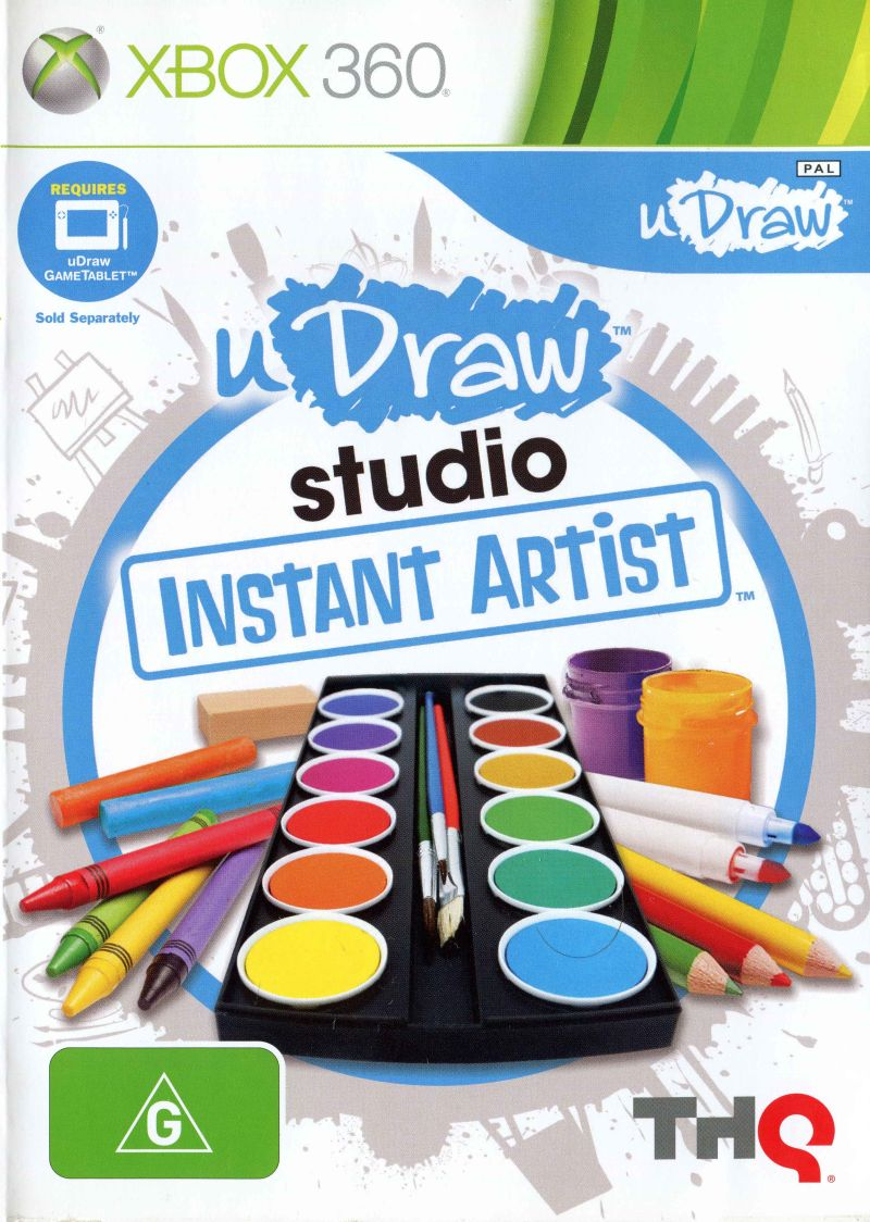 uDraw Studio: Instant Artist Xbox 360 Front Cover
