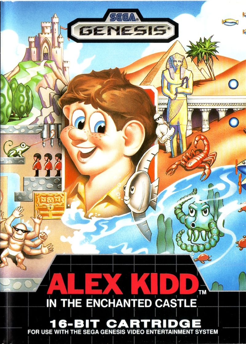 Alex Kidd In The Enchanted Castle For Genesis 1989
