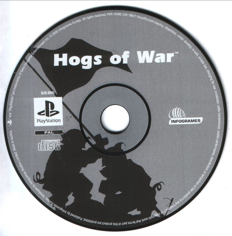 Hogs of War PlayStation Media