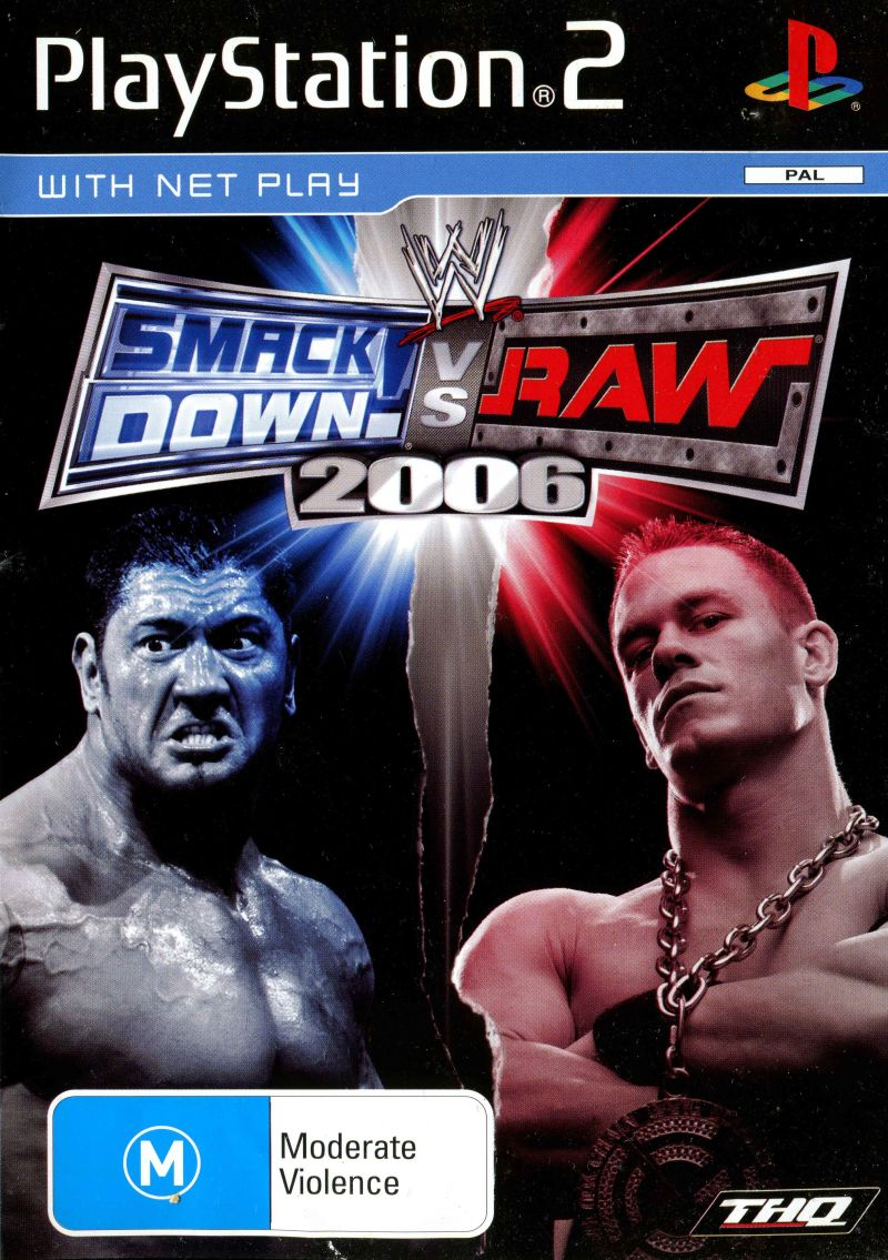 Last Retro Game You Finished And Your Thoughts - Page 13 495490-wwe-smackdown-vs-raw-2006-playstation-2-front-cover