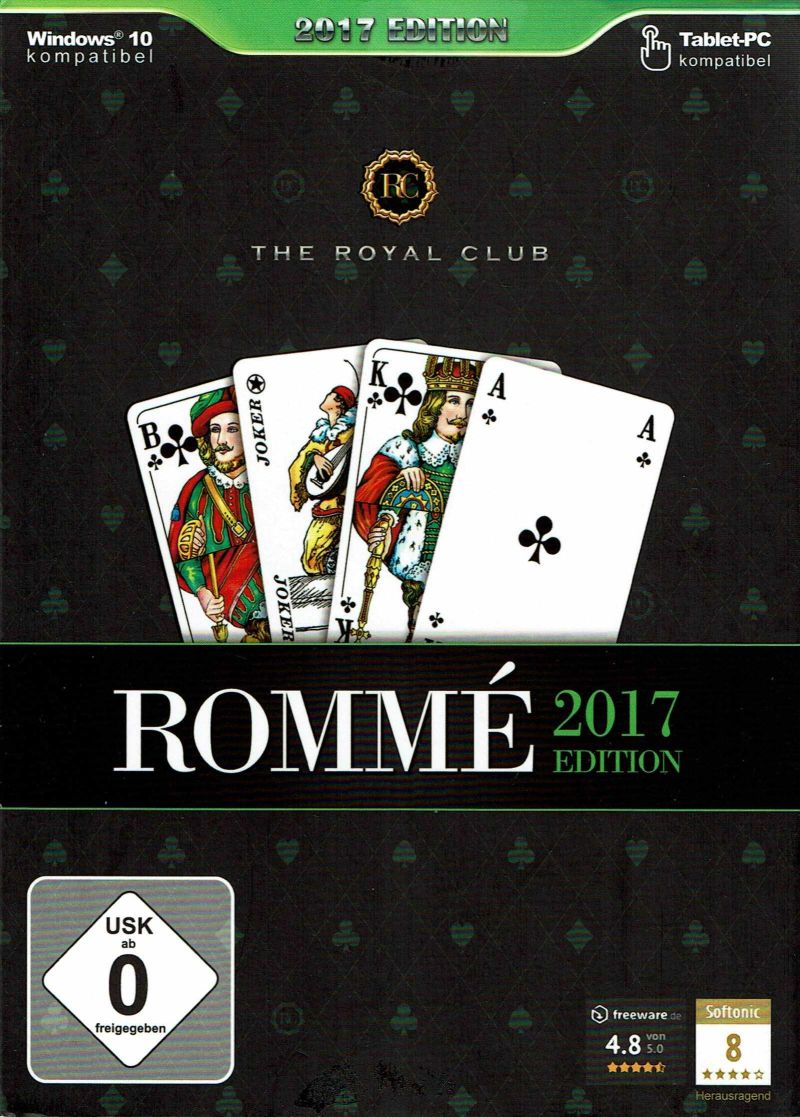The Royal Club: Rommé 2017 Edition Windows Front Cover