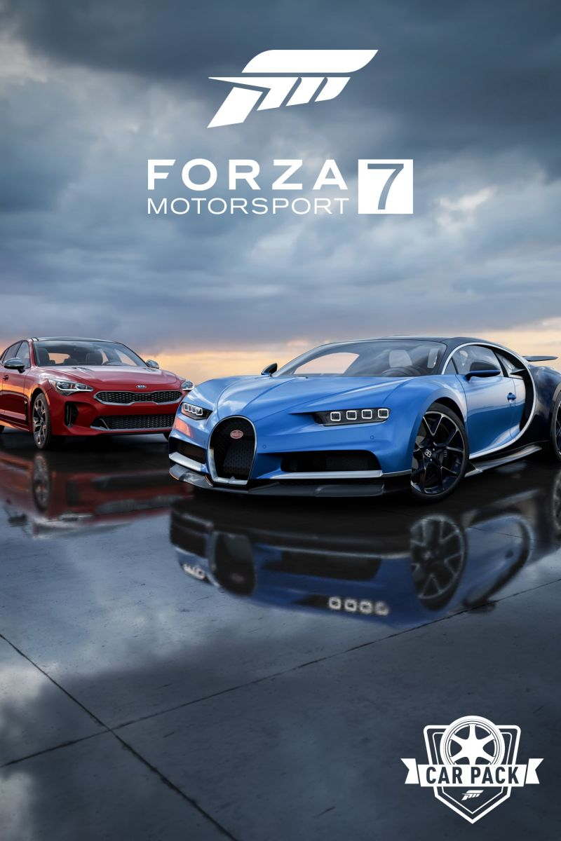 Forza Motorsport 7 2018 Bugatti Chiron Windows Apps Front Cover