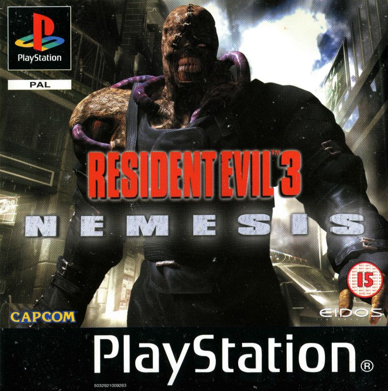 Resident Evil 3 Nemesis 1999 Playstation Box Cover Art Mobygames
