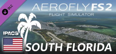 Aerofly FS 2 Flight Simulator: South Florida Windows Front Cover