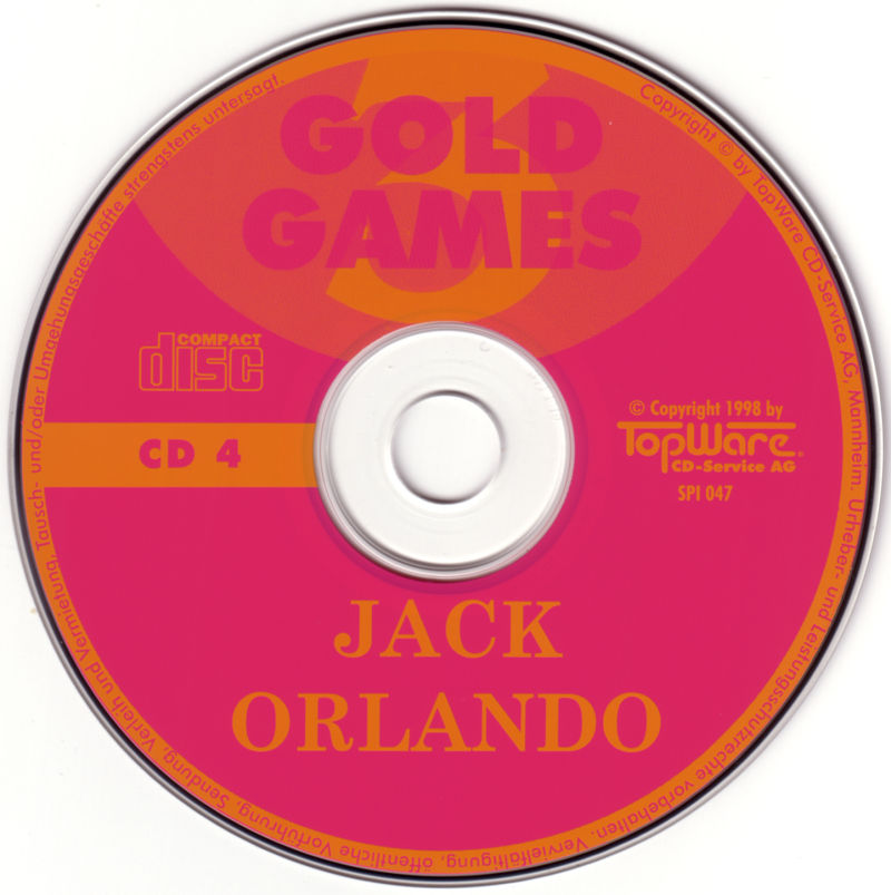 Gold Games 3 DOS Media Disc 4 - Jack Orlando