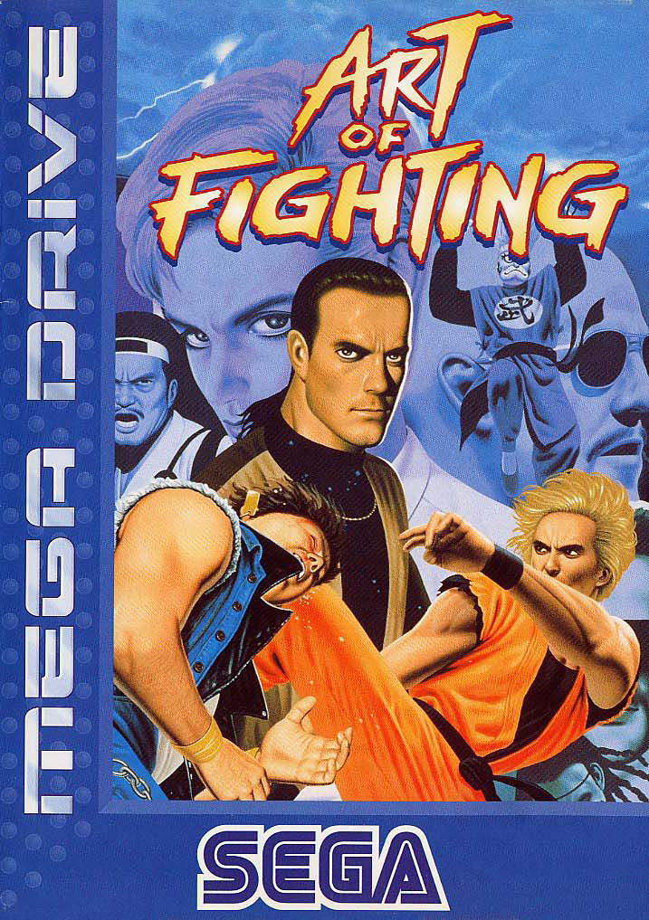 Art Of Fighting 1994 Genesis Box Cover Art Mobygames