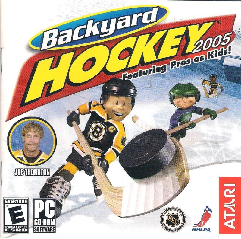Backyard Hockey 2005 2004 Windows Box Cover Art Mobygames