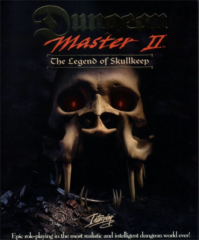 Dungeon Master II: Skullkeep DOS Front Cover