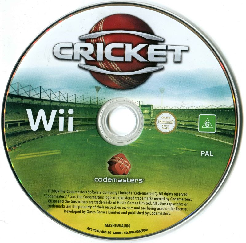 Ashes Cricket 2009 (2009) Wii box cover art - MobyGames