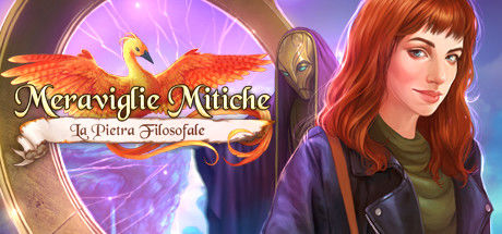 Mythic Wonders: The Philosopher's Stone (Collector's Edition) Linux Front Cover Italian version