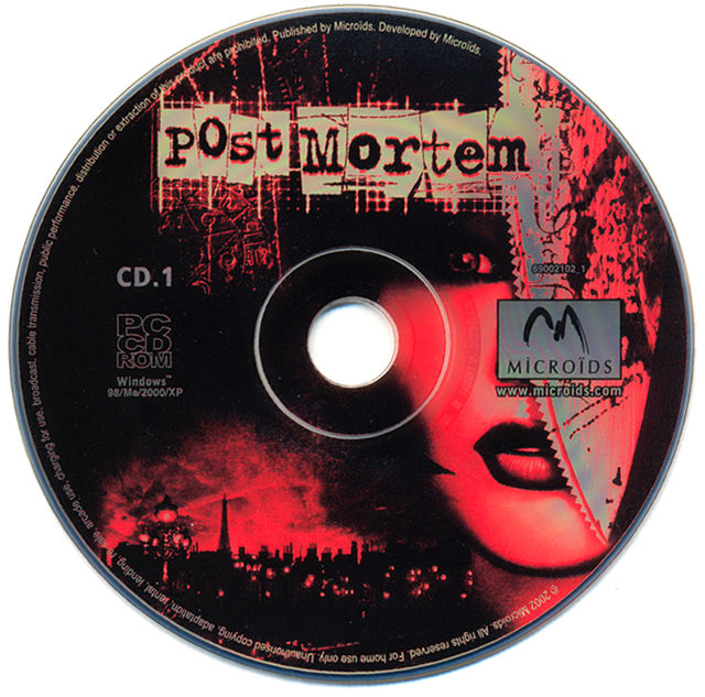 Post Mortem Windows Media Disc 1/2