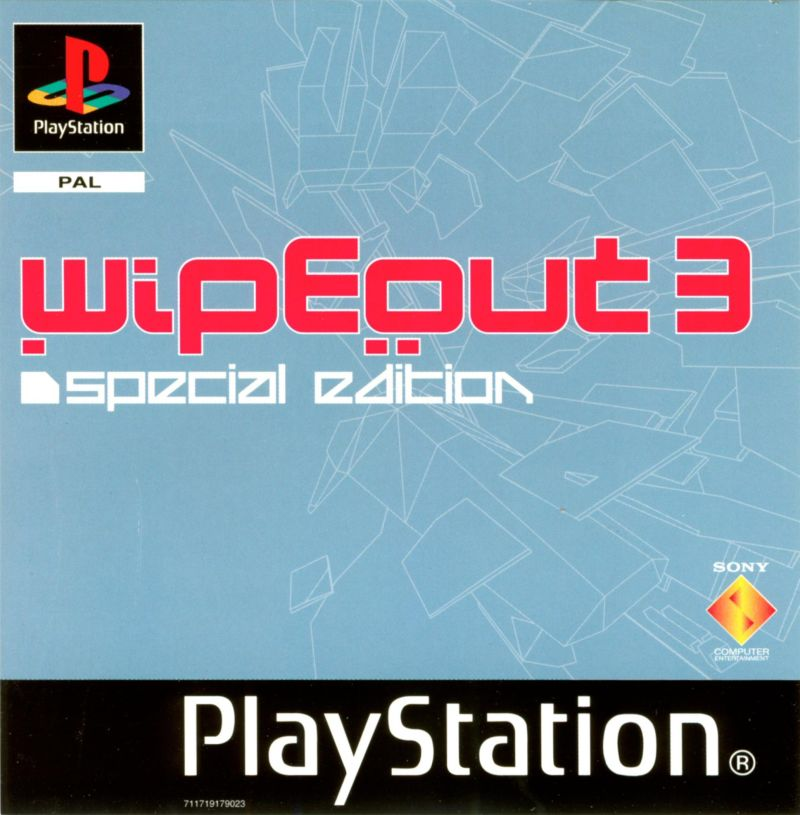 WipEout 3: Special Edition PlayStation Front Cover