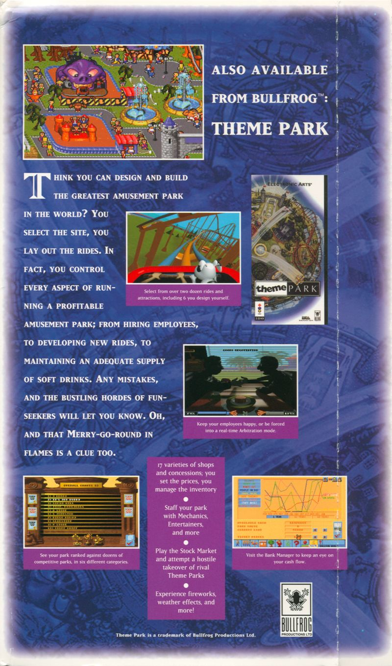 Syndicate 3DO Inside Cover